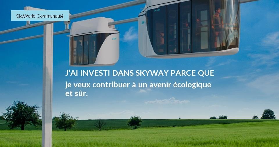 Ecologie et transport colelctif avec Skyway
